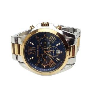 Michael Kors Oversized Bradshaw Two Toned Watch